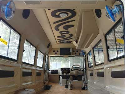 AM Auto Designers Car Tempo Traveller Buses Van Interior Seats